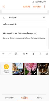 Samsung Galaxy S8 - E-mail - Envoi d