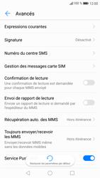 Huawei P9 Lite - Android Nougat - SMS - Configuration manuelle - Étape 7