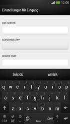HTC One Mini - E-Mail - Manuelle Konfiguration - Schritt 10