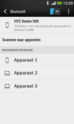 HTC Desire 500 - bluetooth - aanzetten - stap 7