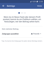 Samsung Galaxy S7 - Datenschutz und Sicherheit - Datenschutzeinstellungen von Facebook ändern - 10 / 35