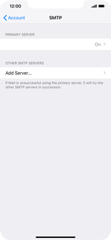 Apple iPhone XR - E-mail - Manual configuration IMAP without SMTP verification - Step 20
