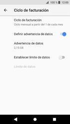 Sony Xperia XZ1 - Internet - Ver uso de datos - Paso 11