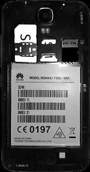 Huawei Y3 - SIM-Karte - Einlegen - 8 / 11