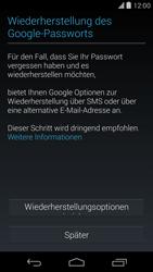 LG D821 Google Nexus 5 - Apps - Konto anlegen und einrichten - Schritt 12