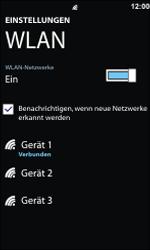 Nokia Lumia 800 - WLAN - Manuelle Konfiguration - Schritt 8