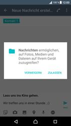 Sony Xperia XA - MMS - Erstellen und senden - 15 / 21