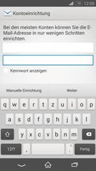 Sony D5803 Xperia Z3 Compact - E-Mail - Konto einrichten - Schritt 6