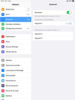 Apple iPad mini (2019) - iPadOS 13 - Bluetooth - Jumelage d