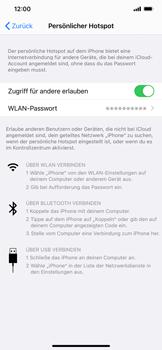 Apple iPhone 11 - iOS 14 - WiFi - So aktivieren Sie einen WLAN-Hotspot - Schritt 8