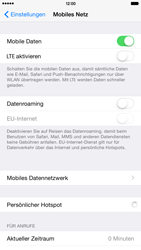 Apple iPhone 6 Plus iOS 8 - Internet - Manuelle Konfiguration - Schritt 5