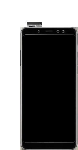 Samsung Galaxy A8 - Premiers pas - Insérer la carte SIM - Étape 8