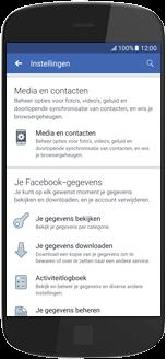Huawei Mate 20 Lite - apps - deactiveer automatisch afspelen in Facebook - stap 6