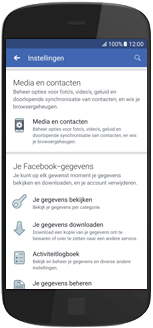 Samsung Galaxy Note9 - apps - deactiveer automatisch afspelen in Facebook - stap 6