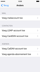 Apple iPhone 5s iOS 8 - E-mail - Account instellen (IMAP zonder SMTP-verificatie) - Stap 6