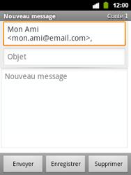 Alcatel OT-903 - E-mail - envoi d