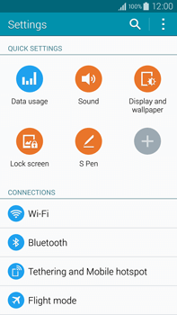 Samsung Galaxy Note 4 - WiFi - WiFi configuration - Step 4