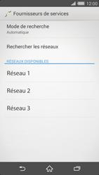 Sony Xperia Z2 - Réseau - Sélection manuelle du réseau - Étape 10