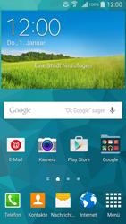Samsung Galaxy S 5 - WiFi - Anrufen über WiFi - Schritt 1