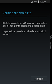 Samsung Galaxy Note Edge - Applicazioni - Configurazione del negozio applicazioni - Fase 9