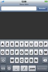 Apple iPhone 4 S - Internet - Navigation sur Internet - Étape 3
