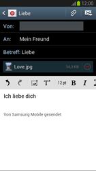 Samsung Galaxy S III - OS 4-1 JB - E-Mail - E-Mail versenden - 0 / 0