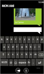 LG E900 Optimus 7 - MMS - Envoi d