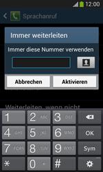 Samsung G3500 Galaxy Core Plus - Anrufe - Rufumleitungen setzen und löschen - Schritt 10