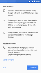 Nokia 3 - Android Oreo - Applications - Create an account - Step 13