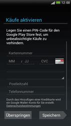 HTC One S - Apps - Einrichten des App Stores - Schritt 14
