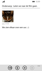 Microsoft Lumia 532 - E-mail - Bericht met attachment versturen - Stap 14