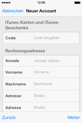 Apple iPhone 4 S mit iOS 7 - Apps - Konto anlegen und einrichten - Schritt 31