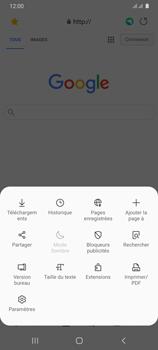 Samsung Galaxy A31 - Internet et connexion - Naviguer sur internet - Étape 21