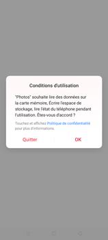 Oppo A9 2020 - Photos, vidéos, musique - Envoyer une photo via Bluetooth - Étape 4