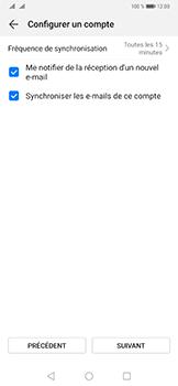 Huawei Mate 20 Pro - E-mails - Ajouter ou modifier un compte e-mail - Étape 19