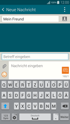 Samsung Galaxy Alpha - MMS - Erstellen und senden - 13 / 23