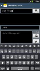 Samsung Galaxy S4 Active - MMS - Erstellen und senden - 1 / 1