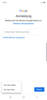Samsung Galaxy Note 10 - Apps - Einrichten des App Stores - Schritt 6
