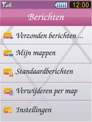 Samsung S7070 Diva - Voicemail - Handmatig instellen - Stap 4