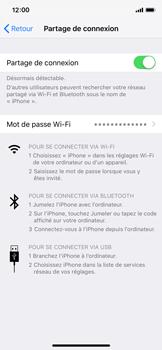 Apple iPhone XS - iOS 12 - Internet et connexion - Partager votre connexion en Wi-Fi - Étape 8