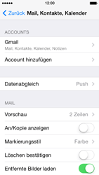 Apple iPhone 5s - E-Mail - Konto einrichten (gmail) - 10 / 12
