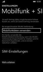 Nokia Lumia 635 - Netzwerk - Manuelle Netzwerkwahl - Schritt 5