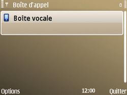 Nokia E72 - Messagerie vocale - configuration manuelle - Étape 8