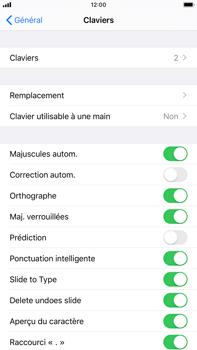 Apple iPhone 7 Plus - iOS 13 - Prise en main - Comment ajouter une langue de clavier - Étape 5