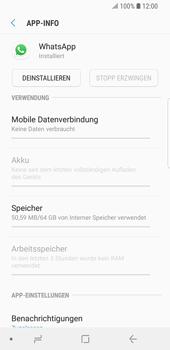 Samsung Galaxy S9 - Apps - Eine App deinstallieren - Schritt 6