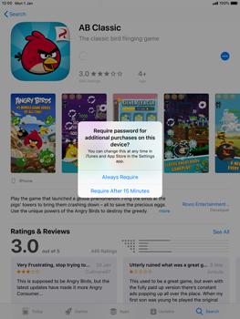 Apple iPad mini 4 iOS 12 - Applications - Download apps - Step 18