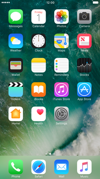 Apple Apple iPhone 6s Plus iOS 10 - iOS features - Control Centre - Step 2