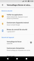 Sony Xperia XZ1 - Sécuriser votre mobile - Activer le code de verrouillage - Étape 12