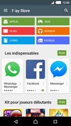 Sony Xperia M4 Aqua - Applications - Télécharger une application - Étape 4
