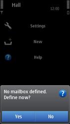 Nokia N8-00 - E-mail - Manual configuration - Step 5